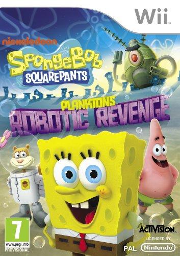 SpongeBob SquarePants Plankton's Robotic Revenge Nintendo Wii Game (Planktons Robotic Revenge Wii compare prices)