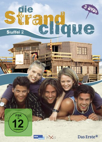 Die Strandclique - Staffel 2 [3 DVDs]