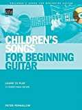 img - for Children's Songs for Beginning Guitar Book/CD (String Letter Publishing) (Acoustic Guitar) book / textbook / text book