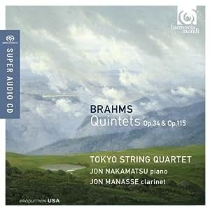 Quintette Opp. 34 & 115