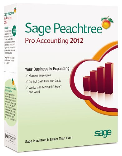 Sage Peachtree Pro Accounting 2012