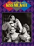 Vocal Selections From Cole Porter: Kiss Me Kate Piano Vocal Book