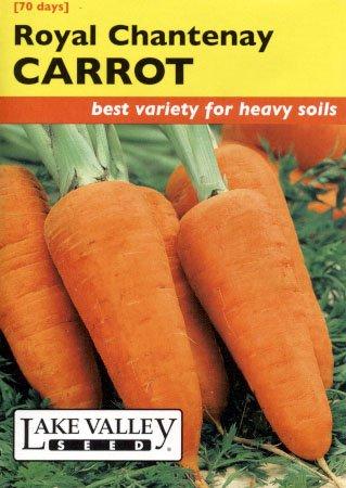 Lake Valley 72 Carrot Royal Chantenay Seed Packet