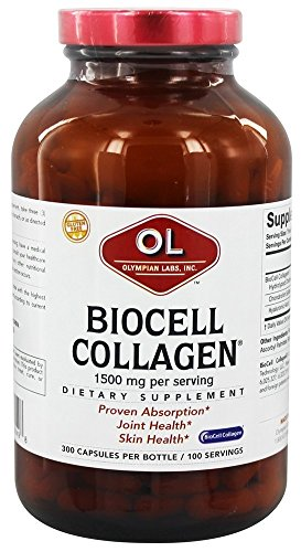 Olympian Lab Biocell Collagen II, 1500mg, 300-Count (Biocell Collagen Type Ii compare prices)
