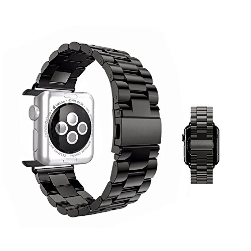 apple-watch-band-42mm-mixctech-stainless-steel-wrist-bracelet-clasp-with-milled-polishing-shiny-soli