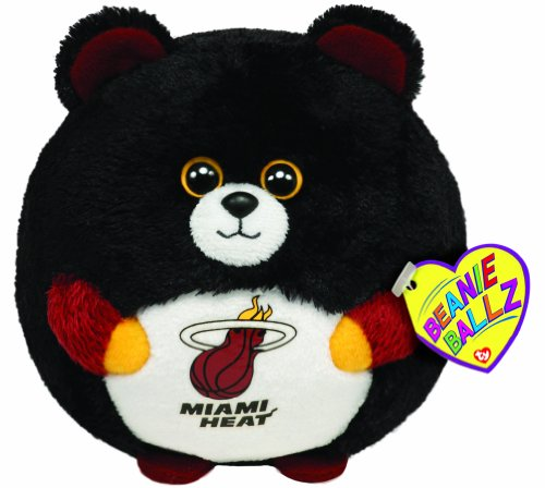 Ty Beanie Ballz Miami Heat - Nba Ballz back-513111