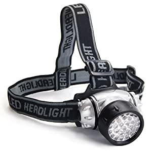 DIGIFLEX 28 LED Torch Flashlight Stirnband Water Resistant