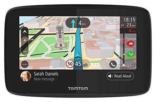 TomTom-GO-5200-Navigation-127-cm-5-Zoll-Update-via-WiFi-Smartphone-Benachrichtigungen-Freisprechen-Lebenslang-Karten-Welt-Traffic-ber-Integrierte-SIM-Karte-Aktive-Magnethalterung-schwarz
