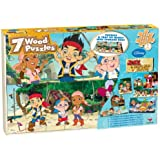 Jake And The Neverland Pirates 7 Wood Puzzles in Wood Storage Box