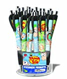 Phineas & Ferb Grip Pen Canister, 24 pens (11407A)