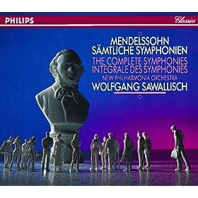 "Mendelssohn: Symphony No.2 in B flat, Op.52 - ""Hymn of Praise"" - 9. ""Drum sing ich mit meinem Liede ewig"""