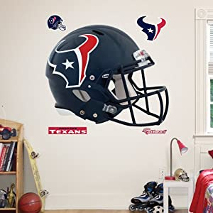 NFL Houston Texans Helmet Wall Graphics by Fathead
