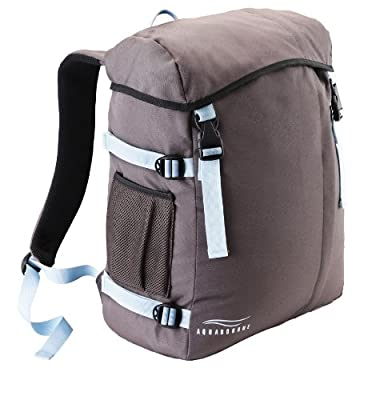 Aquabourne Waterproof laptop backpack, daypack for travel, leisure, gym, beach, sports. 3yr guarantee
