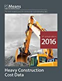 RS Means Heavy Construction Cost Data 2016 Books