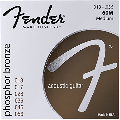 Fender Phosphor Bronze Acoustic Guitar Strings (Fender Accesories Guitar compare prices)