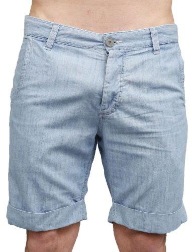 Japan Rags Horex Straight Blue Man Shorts Men - W34