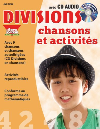 Divisions chansons et activités, Resource Book with Song CD (French Edition)