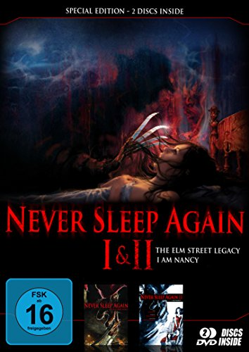 Never sleep again 1+2 - Special Edition [2 DVDs] [Edizione: Germania]