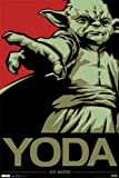 Trends Intl. Star Wars Yoda Poster, 24-Inch by 36-Inch