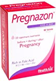 HealthAid Pregnazon - Folic Acid, Iron, B Vitamins - 90 Vegan Tablets