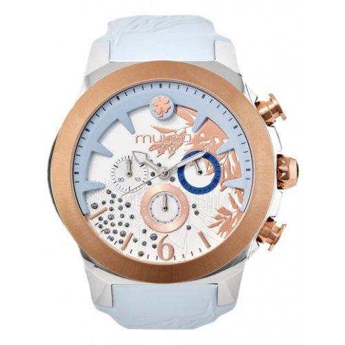 Reloj Mulco MW5-3810-413 Mujer Azul Silicona Multifunción