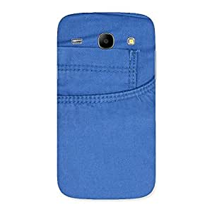 Delighted Blue Jeans Back Case Cover for Galaxy Core