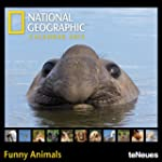 2013 Ng Funny Animals Mini Grid Calendar