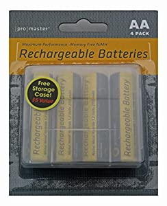 Promaster XtraPower PRO NiMH Batteries - AA 4-Pack
