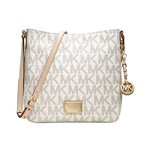Michael Kors Jet Set Travel Large Messenger Bag Messenger Bag (Cream) (MKBLCRM48886) (yellow)