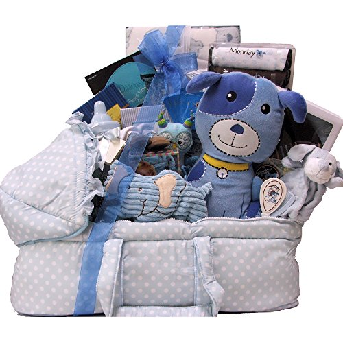 Great Arrivals Baby Gift Basket, Best Wishes Boy