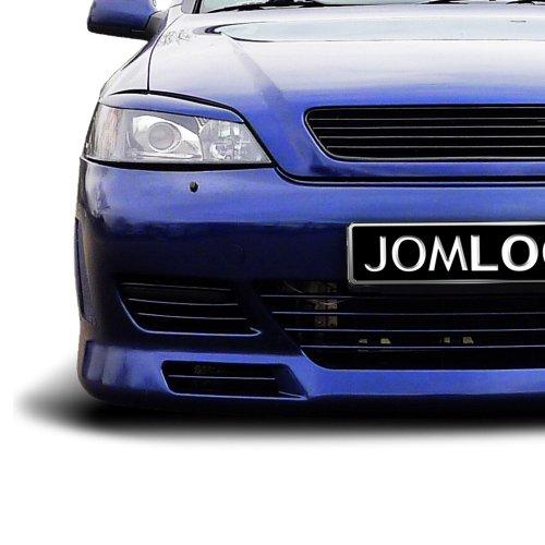 Kühlergrill JOM, Opel Astra G, ohne Emblem (mit Gutachten), schwarz