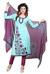 Khatushyam Textile Plain Purple Colour Looks Adoreble Suits