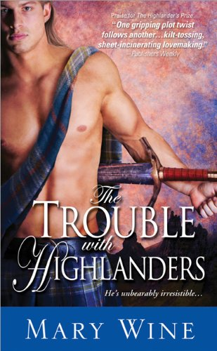Image of The Trouble with Highlanders: Sizzling Scottish Romance with hot-headed heroes (The Sutherlands Scottish Historical Romance Series)