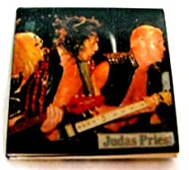 Judas Priest~ Judas Priest Button~ Rare Vintage Button!!~ Approx 1.5&quot; x 1.5&quot;