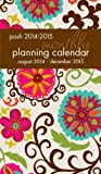 Posh: Floral Whimsy 2014-2015 Monthly Pocket Planning Calendar