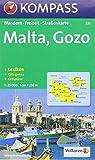 Carte touristique : Malta