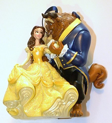 Disney World WDW Park New 2014 Beauty and the Beast Princess Belle Christmas Ornament by Disney