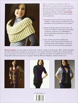 Bufandas y cuellos tejidos en telares circulares: 12