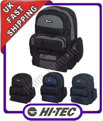 Original Hi-Tec Unisex Sports Gym Bag Backpack Rucksack Flight Hand Bag 4819 from Hi tec