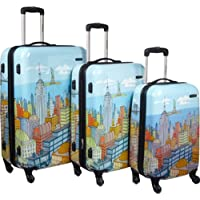 Samsonite CityScapes NYC 3-Piece Premium Spinner Luggage Set