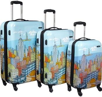 Samsonite CityScapes NYC 3-Piece Premium Spinner Luggage Set