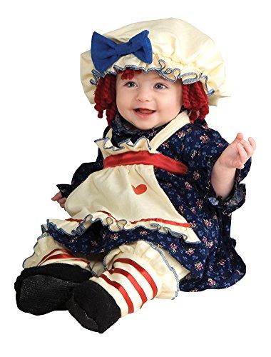 [Ragamuffin Dolly Child Sm Kids Girls Costume] (Ragamuffin Costume)