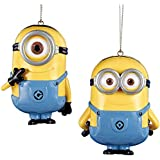 Despicable Me Minion Dave and Carl Ornament - 2 Assorted
