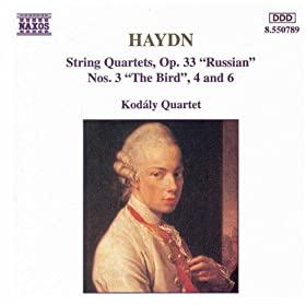 "String Quartet No. 32 in C major, Op. 33, No. 3, Hob.III:39, ""The Bird"": IV. Finale: Rondo - Presto"