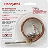 Honeywell CQ100A1013 24-Inch Replacement Thermocouple for Gas Furnaces, Boilers and Water Heaters