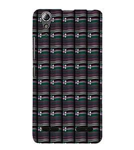 EPICCASE rivery flower Mobile Back Case Cover For Lenovo A6000 (Designer Case)
