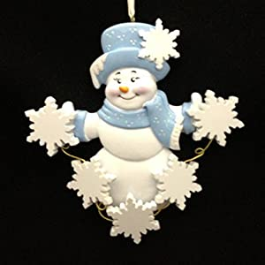 Sweet Snowflakes/5 Personalized Ornament