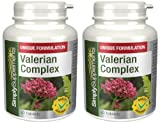 SimplySupplements Valerian Complex 60 TabletsFights Anxiety, Stress, Sleep Problems120 Tablets in total