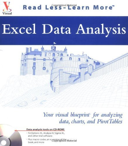 Excel Data Analysis: Your visual blueprint for analyzing data, charts, and PivotTables (Visual Read Less, Learn More) Bk&CD-Rom edition by Simon, Jinjer (2003) Paperback