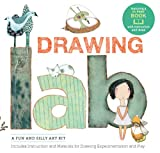 Walter Foster Creative Team Drawing Lab Kit: A Creative Kit to Make Drawing Fun - Includes 40-page book packed with fun and silly drawing exercises!